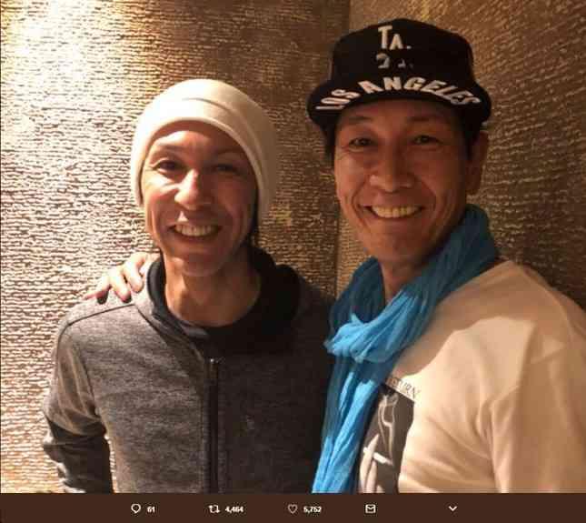 「もはや双子」「兄弟じゃん!」 スキージャンプ・葛西紀明と元AV男優・加藤鷹のツーショットに驚きの声殺到