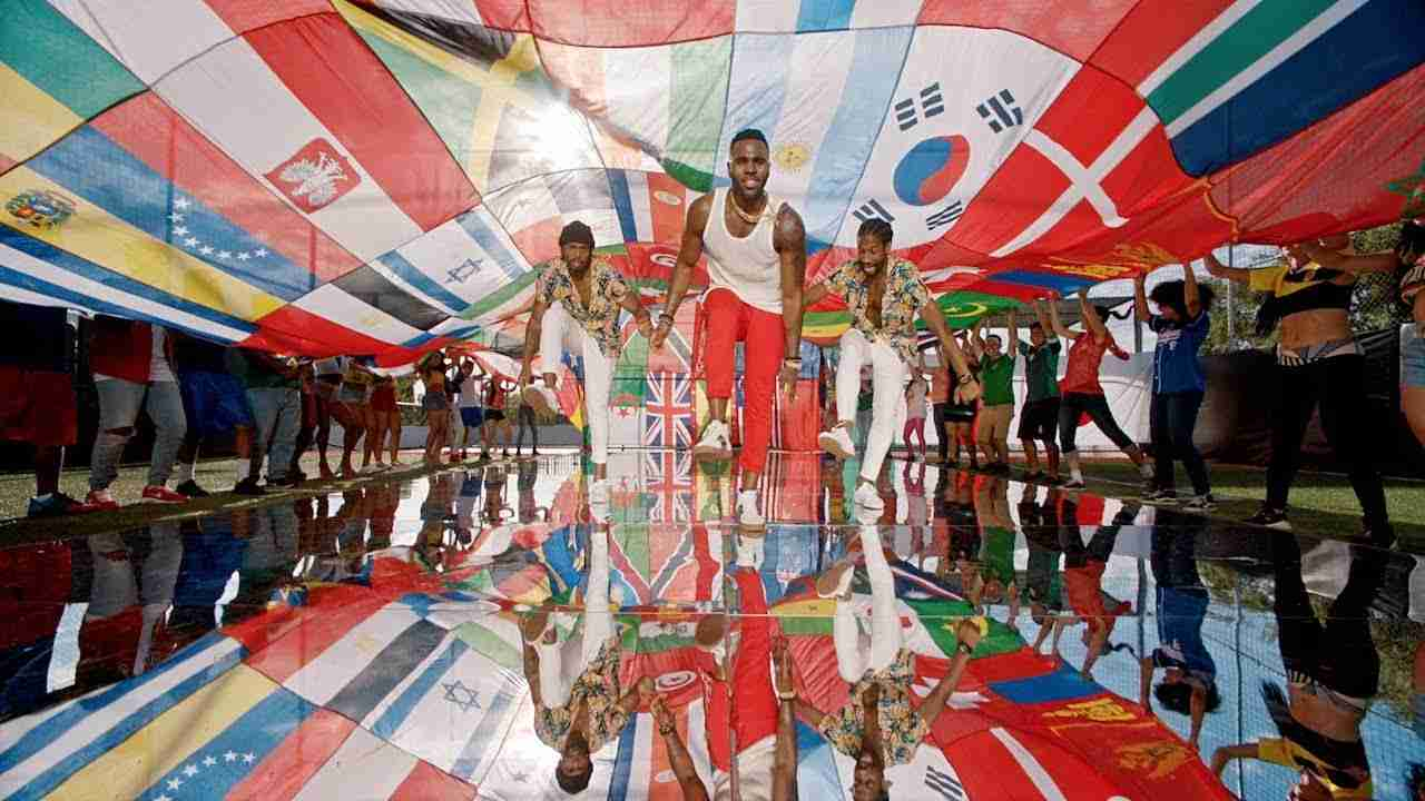 Jason Derulo - Colors (Official Music Video) The Coca-Cola Anthem for the 2018 FIFA World Cup - YouTube