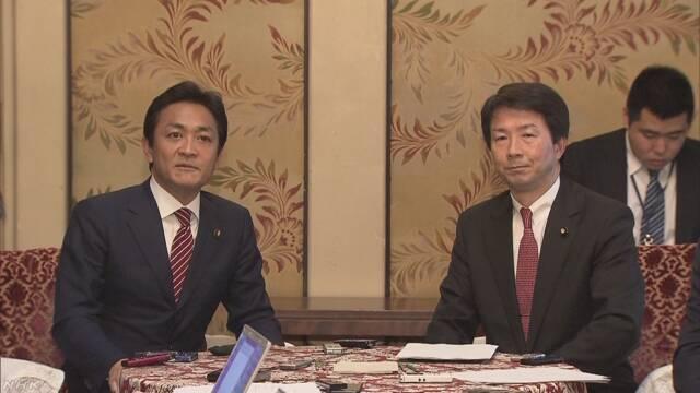 新党は「国民民主党」 民進と希望が基本政策で合意 | NHKニュース