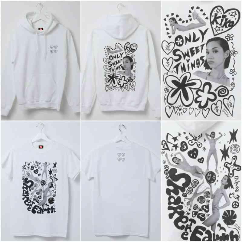 水原希子プロデュースブランド「OK」ポップアップショップ開催 妹・佑果とのポップな2ショットも公開