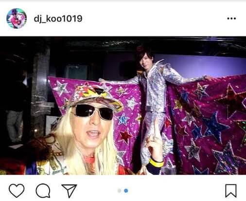 "DAIGOの""ド派手すぎる""誕生日会衣装の写真をDJ KOOが公開 E-TALENTBANK co.,ltd."