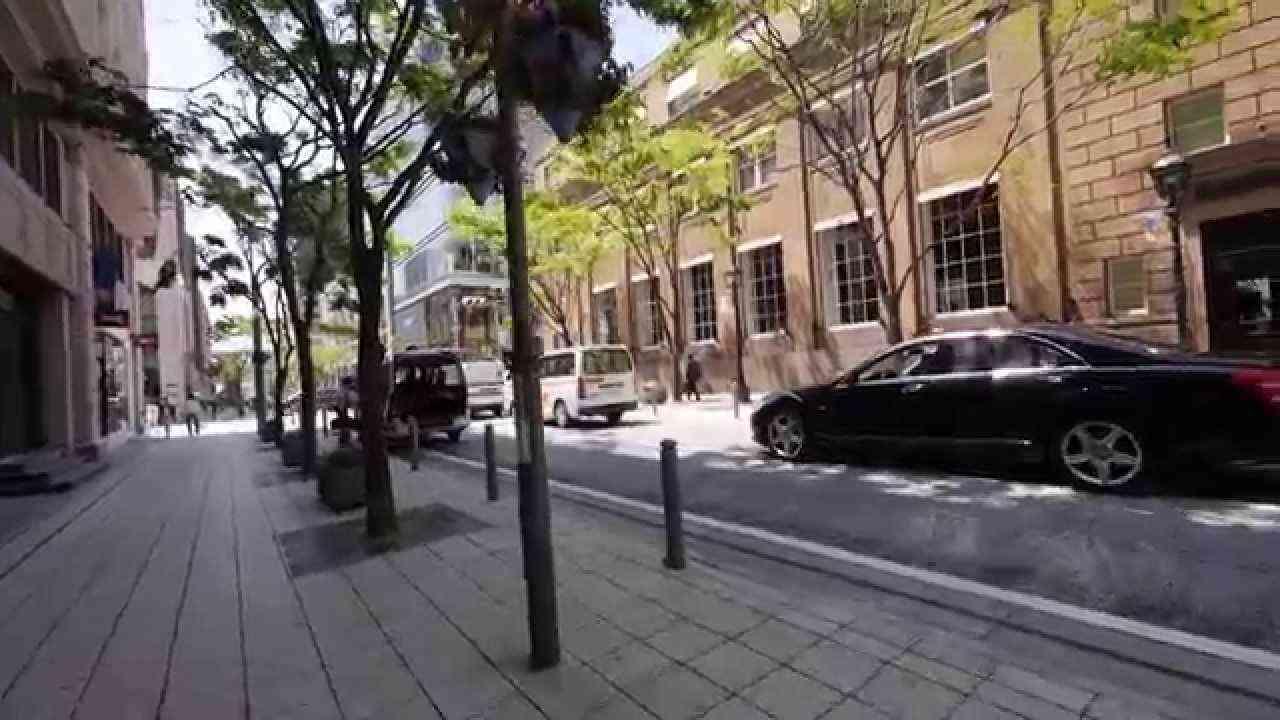 神戸 元町から三宮へ 「旧居留地を歩く」 - YouTube