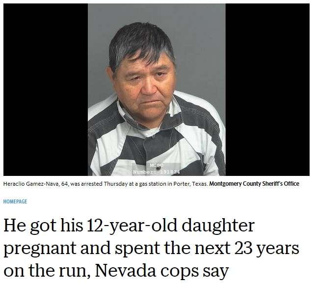 【海外発!Breaking News】12歳娘を妊娠させ逃亡した実父、23年後やっと御用に(米) | Techinsight(テックインサイト)|海外セレブ、国内エンタメのオンリーワンをお届けするニュースサイト