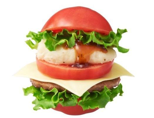 没メニューだったはずのモス「トマ実バーガー」、評判上々! : 東京バーゲンマニア