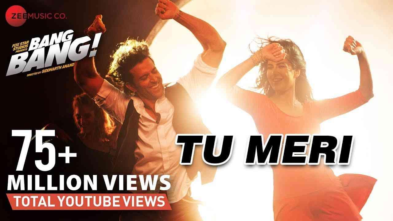 Tu Meri Full Video | BANG BANG! | Hrithik Roshan & Katrina Kaif | Vishal Shekhar | Dance Party Song - YouTube