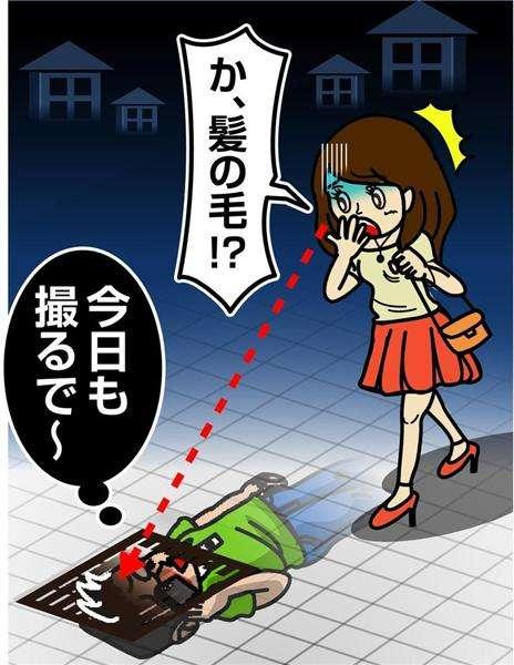 側溝に5時間寝そべりスカートの中のぞく…溝から「髪の毛」はみ出て発覚 神戸、28歳会社員逮捕(1/2ページ) - 産経WEST