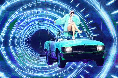 「すごいジャンプ力」「脚力w」倖田來未がどこまでも飛んでいきそうと話題
