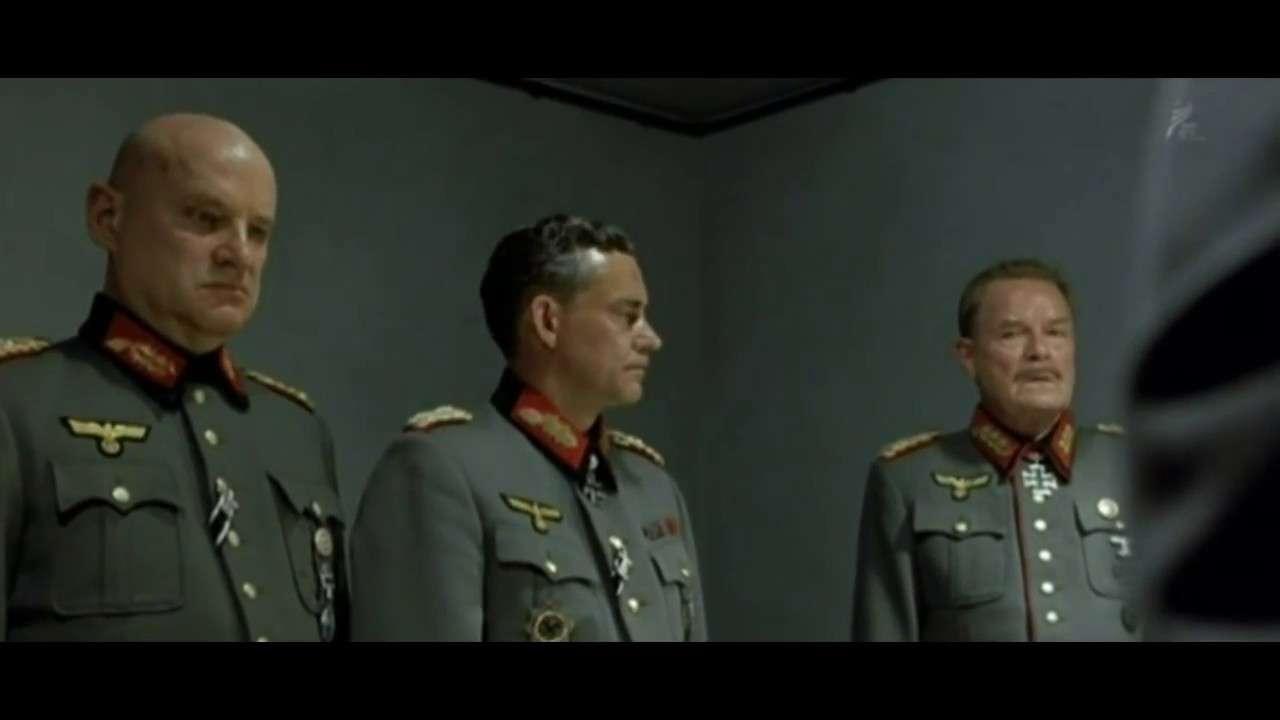 総統は新しい「銀河英雄伝説」にお怒りのようです! - YouTube