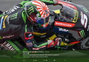 【MotoGP】フランス人選手が日本人ライダーへ尊敬を表して「旭日旗(ライジングサン)」のヘルメットを着用 →韓国人が激怒wwwwwwww | 保守速報