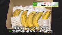 皮まで食べられる「神バナナ」 | NNNニュース