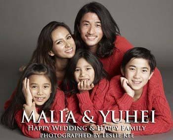 第4子妊娠中のMALIA.4人目の夫・三渡洲舞人とバスローブで2ショット披露「毎日がドラマの連続」
