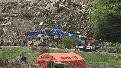 6人目の遺体発見、最後の安否不明者か 大分の土砂崩れ