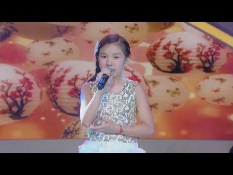 山下ヤスミン(10歳) ♪「愛は花、君はその種子」 - YouTube