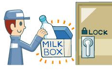宅配牛乳を利用している方!