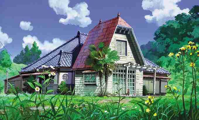 昔ながらのつくりの家に住んでいる人