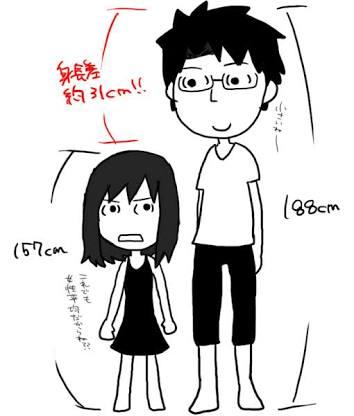 理想の身長差