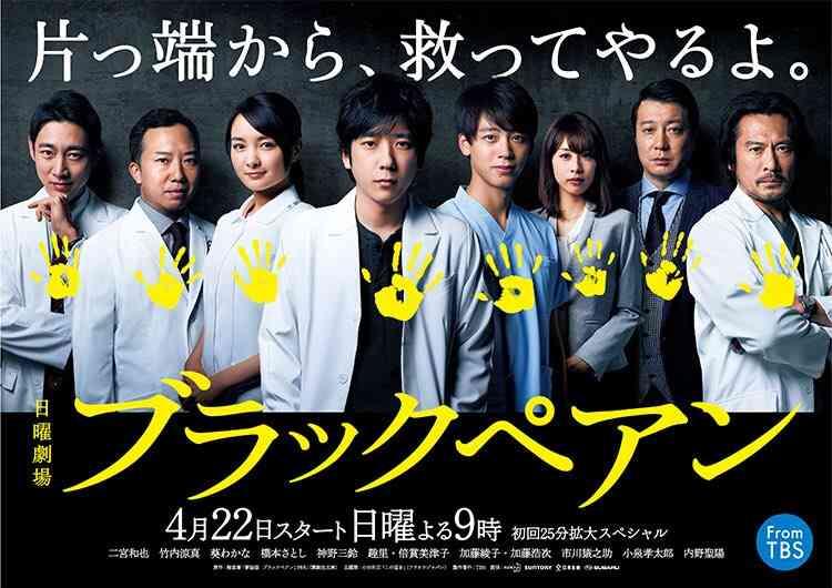【実況・感想】日曜劇場「ブラックペアン」#1
