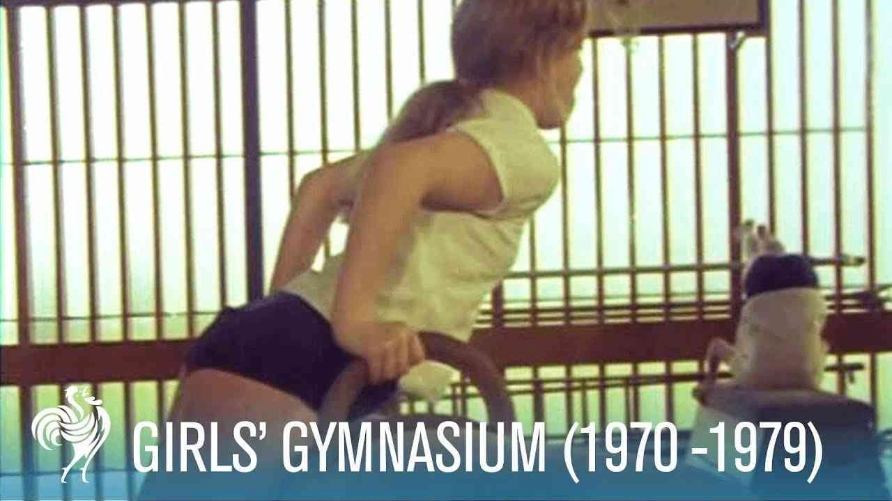 Girls School Gymnasium (1970 -1979) | British Pathé - YouTube