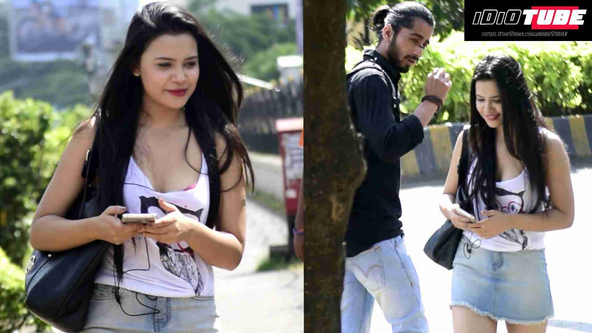 "Hot Girl Calling Boys ""BHAIYYAJI"" (Brother) Prank - iDiOTUBE   Pranks In India - YouTube"