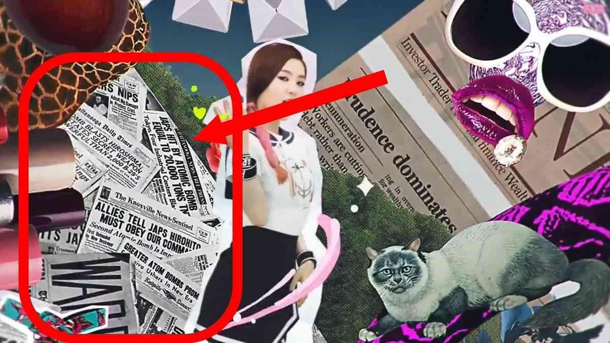 【K-POP】Red Velvet、PVには「ジャップ」や「広島原爆」など日本を侮蔑する言葉も…ネット「反日なのに、なぜ日本でデビュー?」 : 厳選!韓国情報