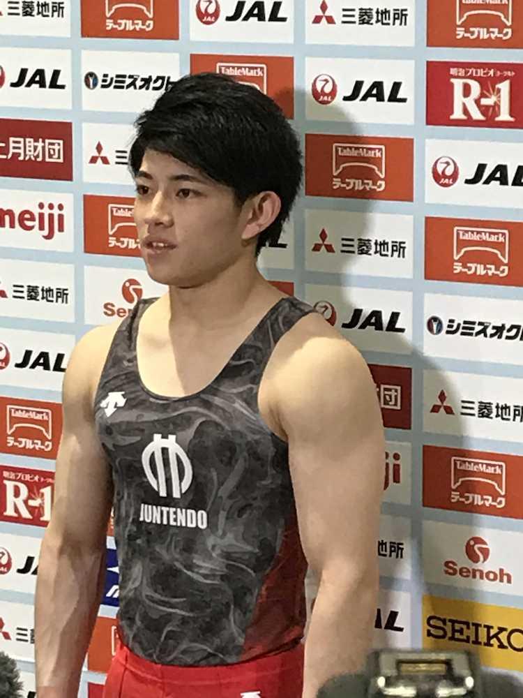 19歳・谷川翔が体操新王者!白井健三が2位、内村航平は11連覇ならず3位― スポニチ Sponichi Annex スポーツ