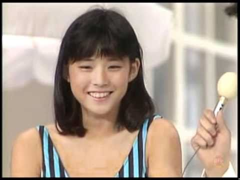 石田ゆり子YURIKO ISHIDA、キャンギャルTV出演。1987/04/27 - YouTube