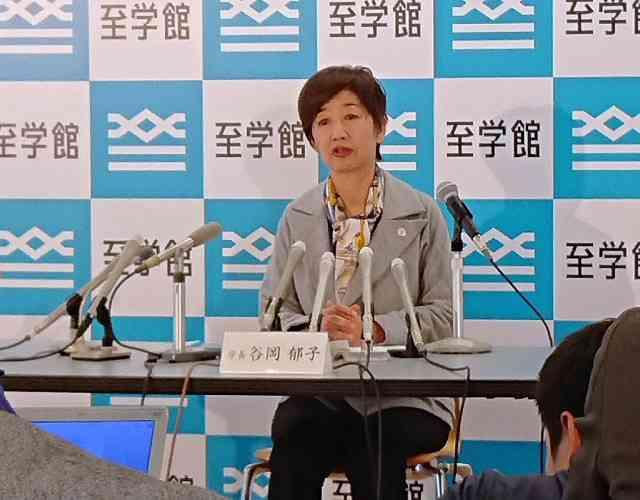 谷岡学長の被害届、フジ「とくダネ!」が56秒の取材映像流し反論「左肩をつかむ姿確認できず」