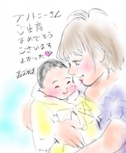 浜田ブリトニー、『少年アシベ』作者から届いた出産祝いのイラストを公開