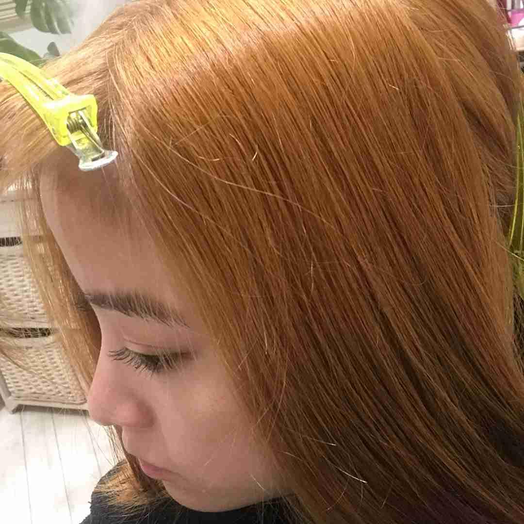 橋本環奈、ブリーチで金髪に 『銀魂』神楽の姿になる過程に驚きの声「地毛なんですね…」