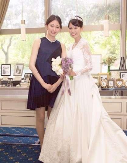 大野いと、大好きな姉の結婚式へ 姉妹ショットに「2人とも綺麗すぎ」の声