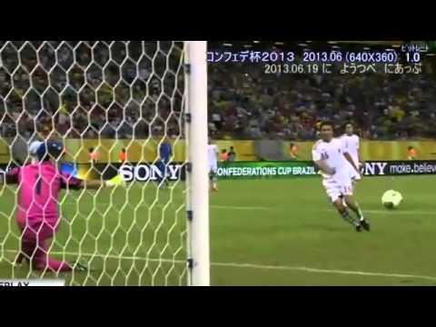コンフィデレーションズカップ イタリアX日本代表ハイライト - YouTube
