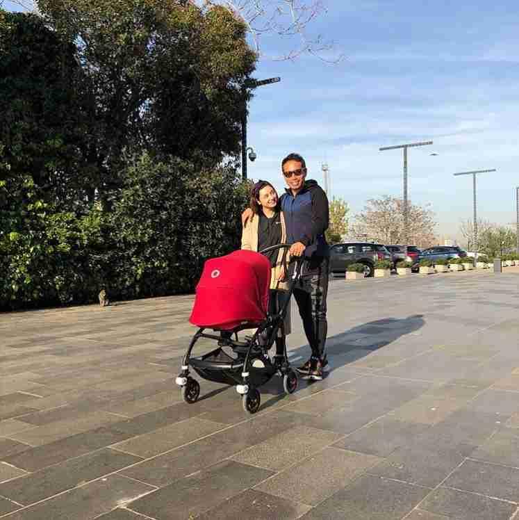 長友佑都&平愛梨夫妻はトルコでもラブラブ 家族3人でスポーツジムへ<動画あり>