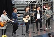 元SMAP3人のレギュラー番組スタート ゆずと横浜港大さん橋でゲリラライブ  - 芸能社会 - SANSPO.COM(サンスポ)
