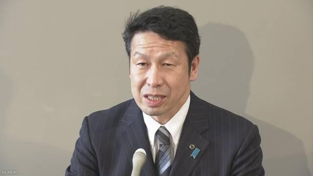 新潟県米山知事 女性問題で辞職の意向 県幹部らに伝える | NHKニュース