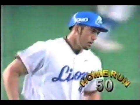 アレックス・カブレラ2002年本塁打集 - YouTube
