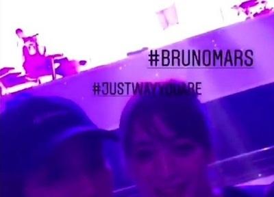 【動画】世界的人気歌手のブルーノ・マーズさん、来日公演で最前列の女性モデルが自撮りを始めてブチギレ激怒!タオルを投げつける - あぁ^~こころがぴょんぴょんするんじゃぁ^~