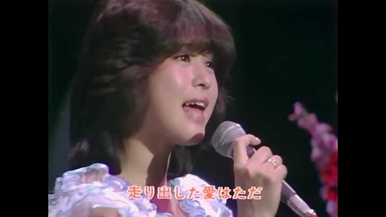 【HD】 松田聖子/チェリーブラッサム (1981年) - YouTube