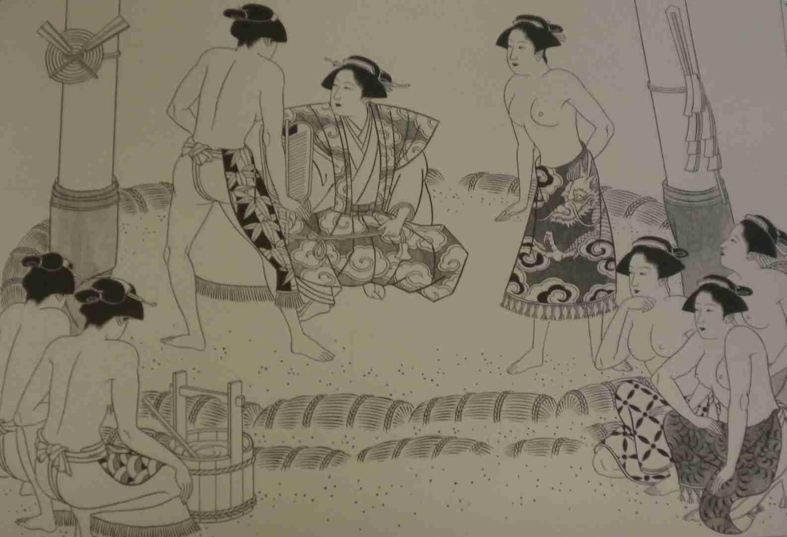 女相撲の歴史は非常に古い。「すもう」の語源。 ( 格闘技 ) - 「万葉仮名の六十二個」の一音節語の解説コーナー。 - Yahoo!ブログ