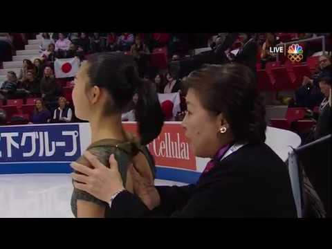 2017 Skate America Sakamoto, Kaori FS JPN NBC - YouTube