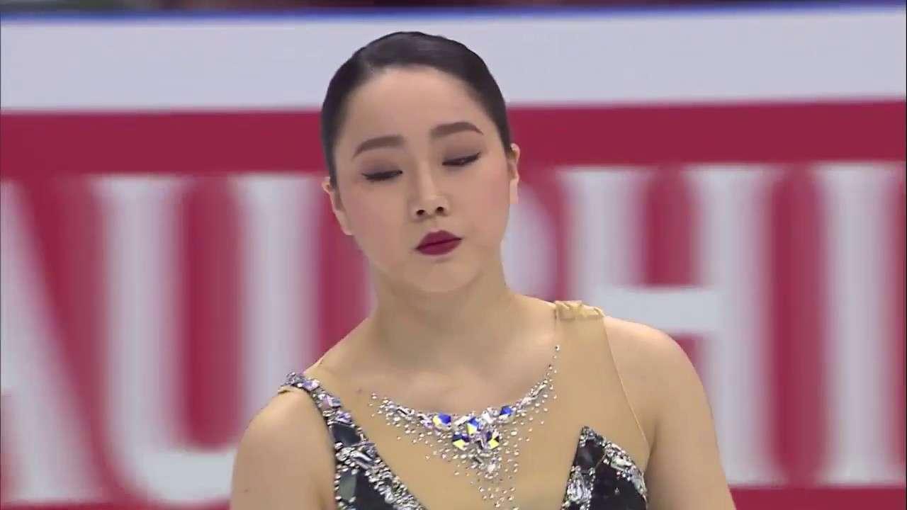 【公式】世界フィギュアスケート選手権2018 女子フリー第3G【樋口新葉】 - YouTube
