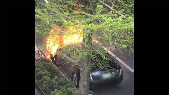 www.fnn-news.com: 超高級車、突然の炎上...