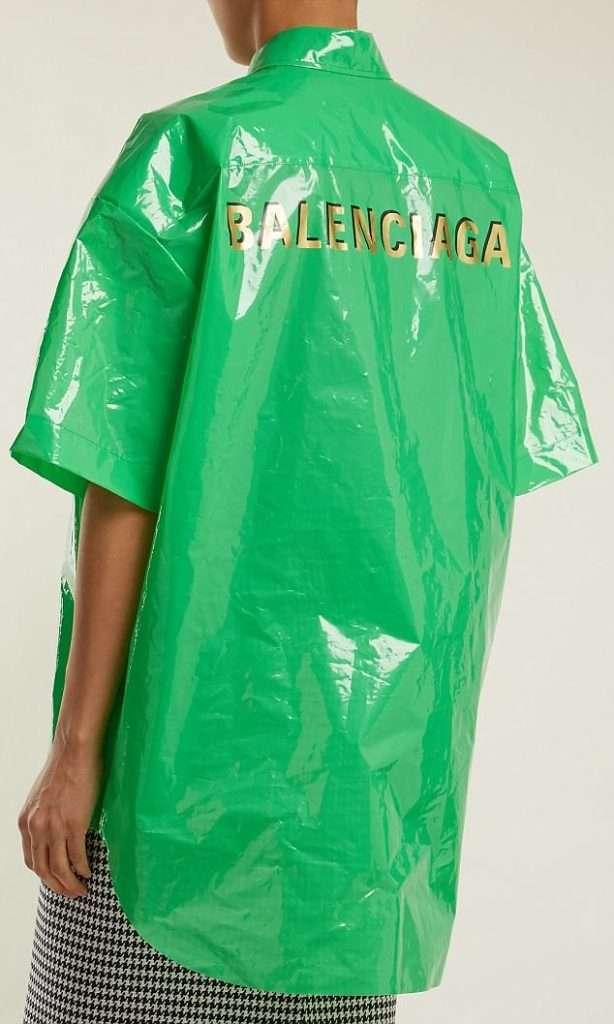 高級ブランドが100%ポリエチレンのビニールシャツを10万円で販売! 即完売するも客からは批判の声も   ゴゴ通信