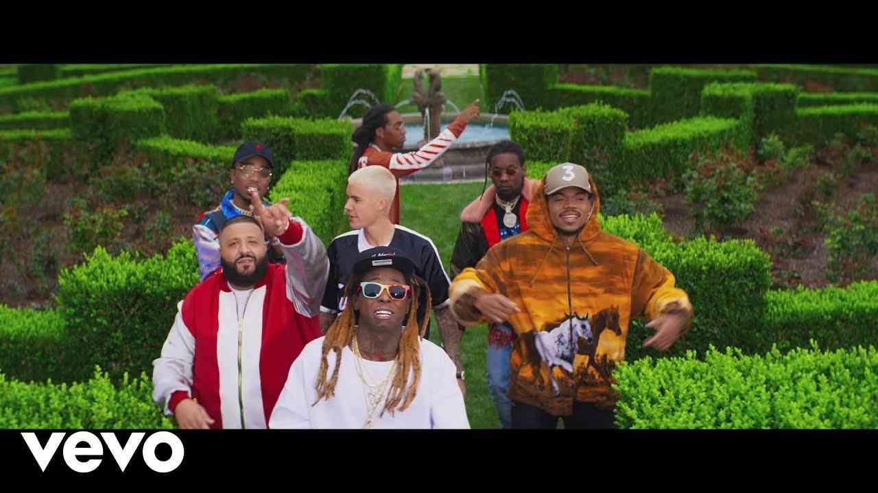 DJ Khaled - I'm The One ft. Justin Bieber, Quavo, Chance the Rapper, Lil Wayne - YouTube