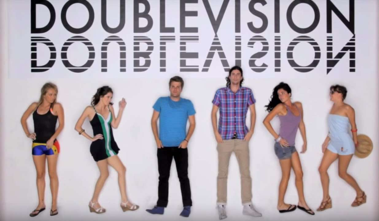 3OH!3 - Double Vision [OFFICIAL MUSIC VIDEO] - YouTube
