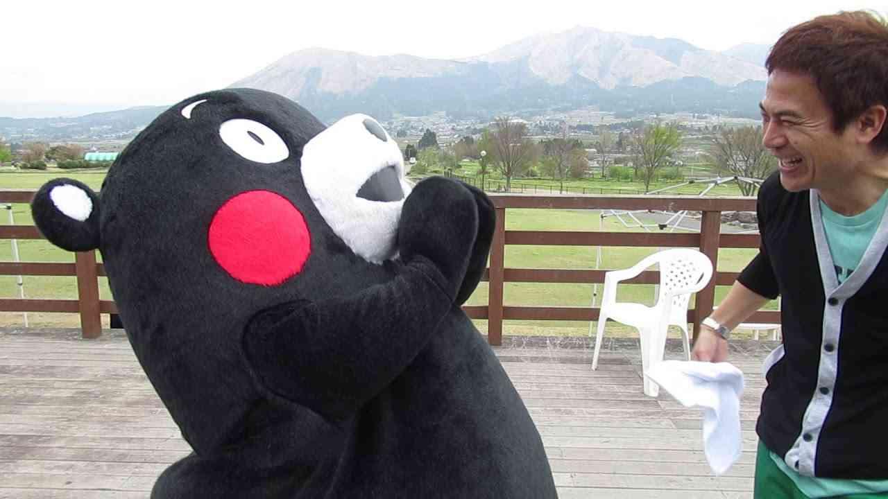 ~くまモン~みんなごめんモン(+o+)太田さん友情のハグ - YouTube
