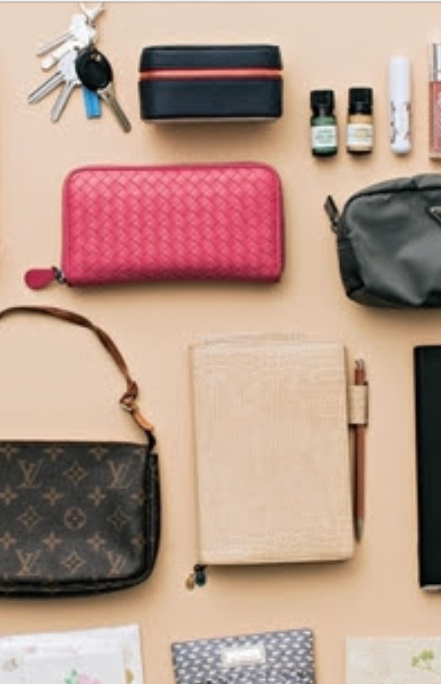 バッグの中はいつも何を入れてますか