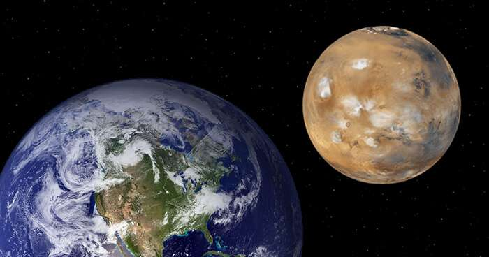 一週間後に火星最接近 5倍サイズのスーパーマーズ