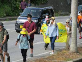 【驚愕】沖縄での反基地団体によるヘイワ行進、韓国人も多数参加していた! しかも小学生まで強制動員 | 保守速報