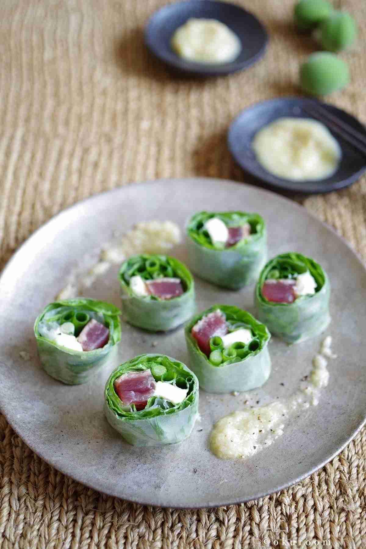 鰹の生春巻き ホースラディッシュソース添え by 齋藤 礼奈 | レシピサイト「Nadia | ナディア」プロの料理を無料で検索
