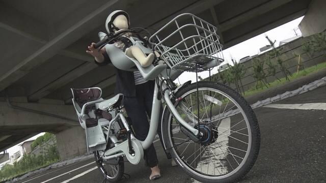 幼児用座席付き自転車で転倒 子どもの救急搬送相次ぐ | NHKニュース